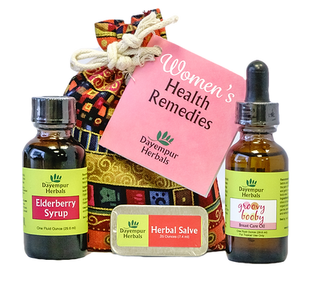 Women's Health Remedies Kit