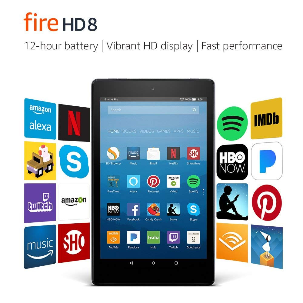 Fire HD Tablet with Alexa