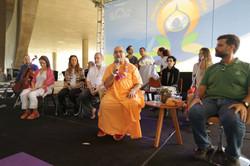 Encontro dos mestres yogis