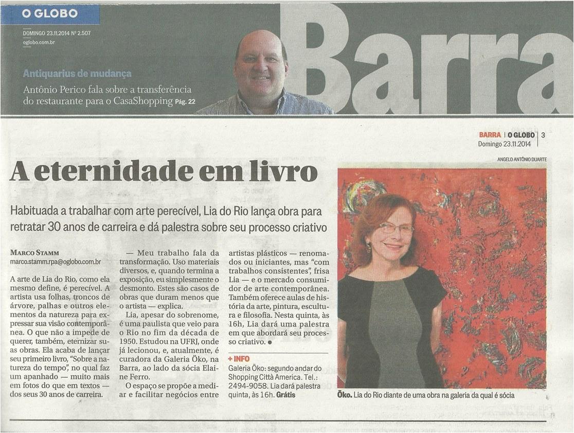 Lançamento do Livro Lia do Rio