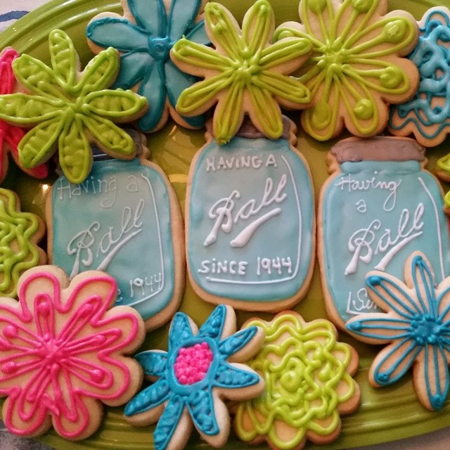 Instagram - Birthday Cookies for @gatheredgoodsmn Love how it all matches @jilly