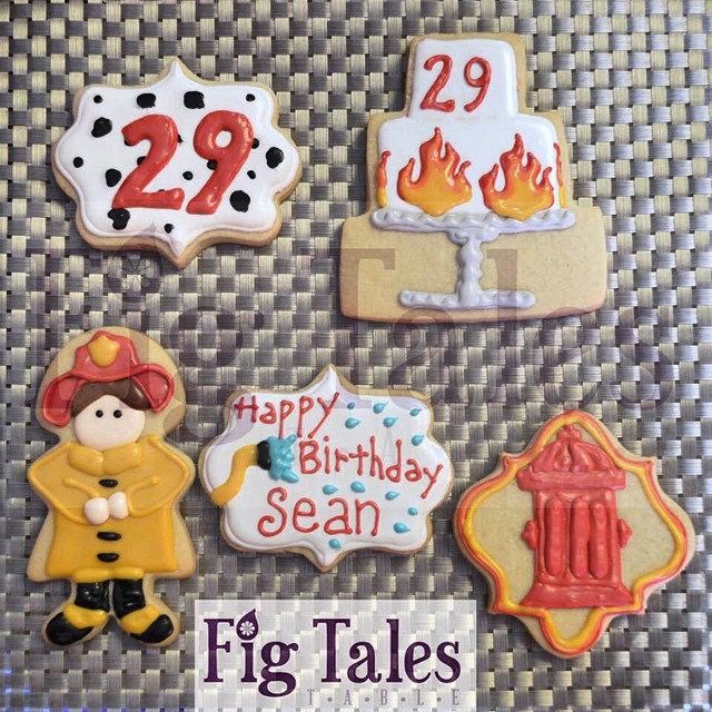 Instagram - Fireman Sean is celebrating his 29th birthday with some sweet #cooki