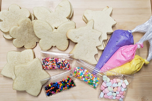 DIY Unicorn Cookie Kit