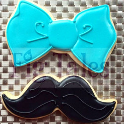 Instagram - This weekend is a fun cookie order weekend! First up Mustaches and B