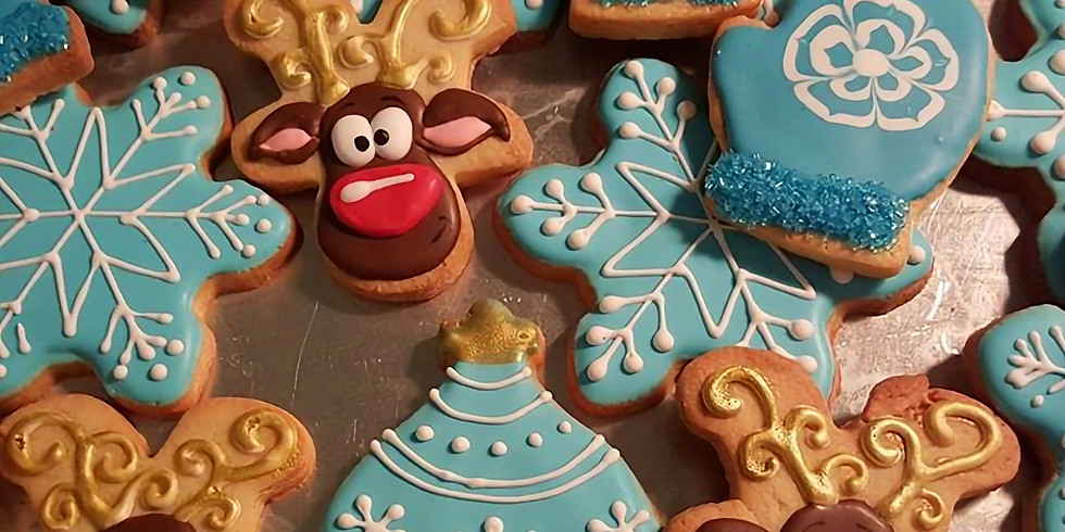 Christmas Cookies and Cabernet - Cookie Decorating Night