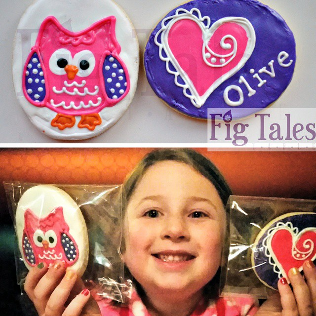 Instagram - I'd say that the Olive Cookie Heart & Owl adventure was a resounding