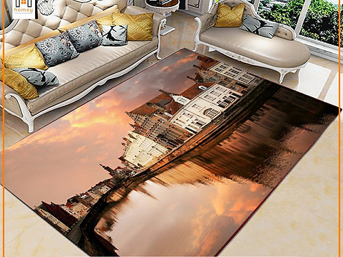 Venice Printed Carpet Cover 150 cm x 240 cm
