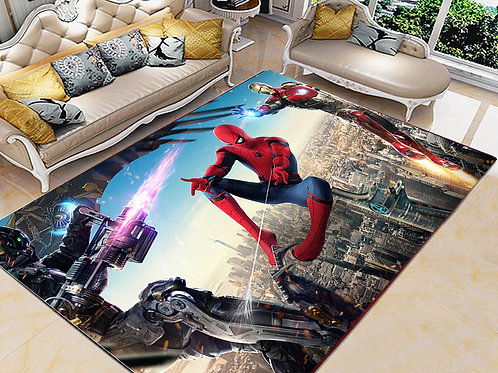 Spiderman Printed Carpet Cover 150 cm x 240 cm