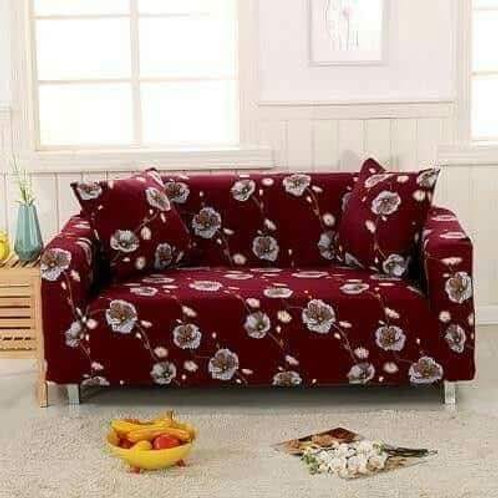 Likra Furniture Cover - Red - 4 pieces