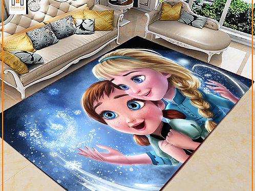 Frozen Printed Carpet Cover 150 cm x 240 cm
