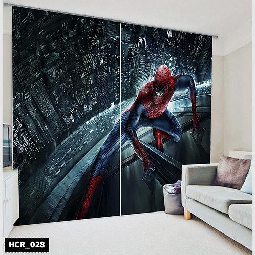 Homey curtian - Spiderman  300Cm*260Cm