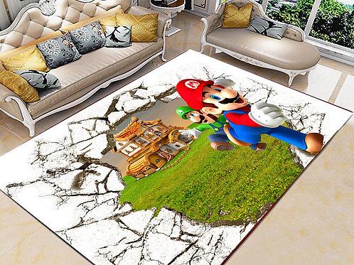 Mario Printed Carpet Cover 150 cm x 240 cm