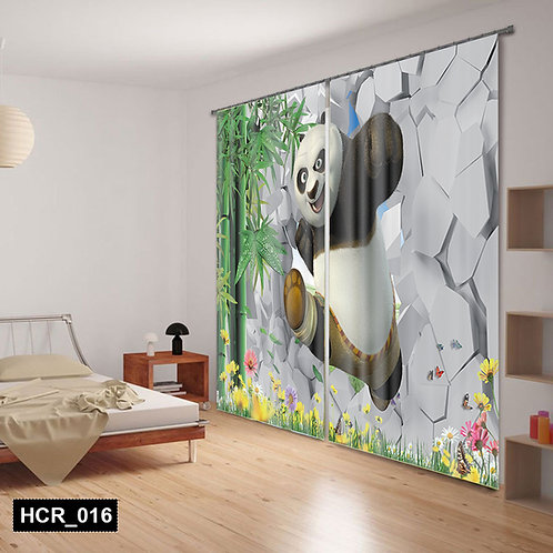 Panda  3D Double Curtain 300 cm x 260 cm