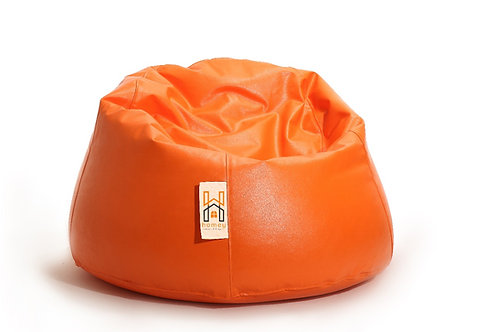 Homey Bean bag Large - Waterproof - Orange