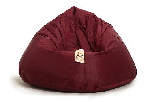 Homey Bean bag XXLarge - Waterproof - Dark Red