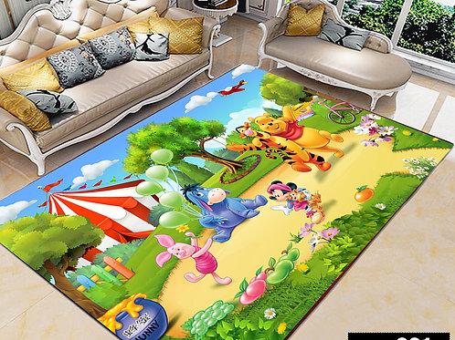 Winnie  Printed Carpet Cover 150 cm x 240 cm