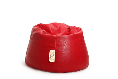 Homey Bean bag Small - Waterproof - Red