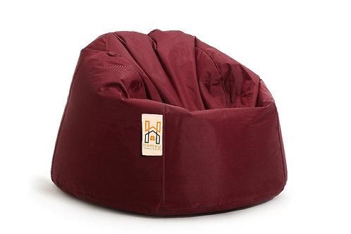 Homey Bean bag XLarge - Waterproof - Dark Red