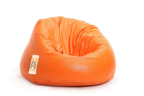 Homey Bean bag XLarge - Waterproof - Orange