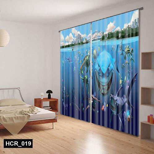 Nimo 3D Double Curtain 300 cm x  260 cm