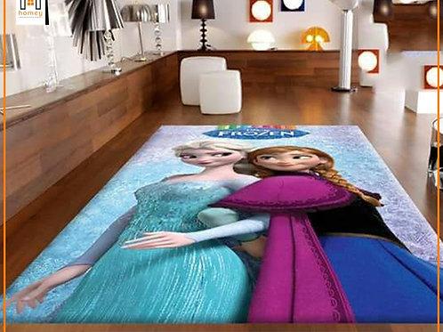 Frozen Printed Carpet Cover 150 cm x 240 cm