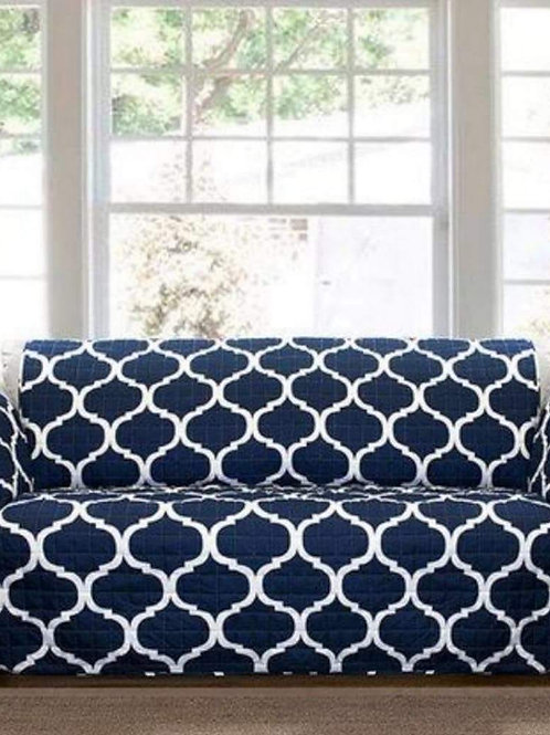 Likra Furniture Cover - Dark Blue - 4 pieces