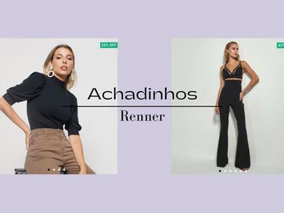 ACHADINHOS ONLINE NA RENNER
