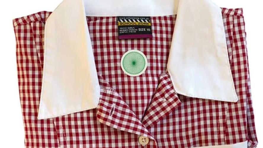 he School & Work Uniform Cloth Harmonizer Patch