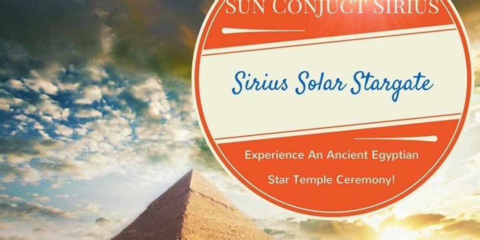 5/6 July 2021: Sirius Solar Stargate Global Event