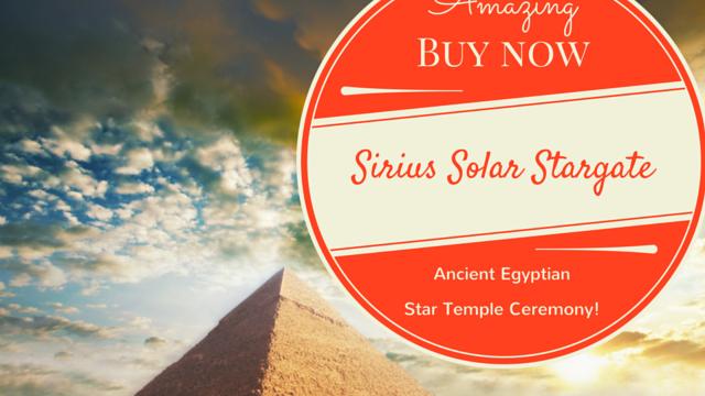 Sun Conjunct Sirius - Egyptian Star Temple Ceremony