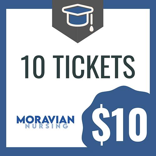 10 Graduation Photoshoot Tickets