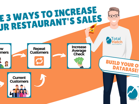The 3 Ways To Increase Your Restaurant's Sales