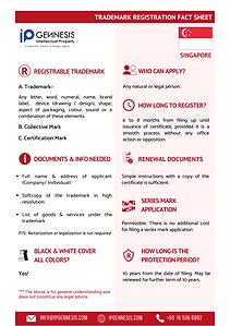 Singapore Trademark Registration Fact Sh