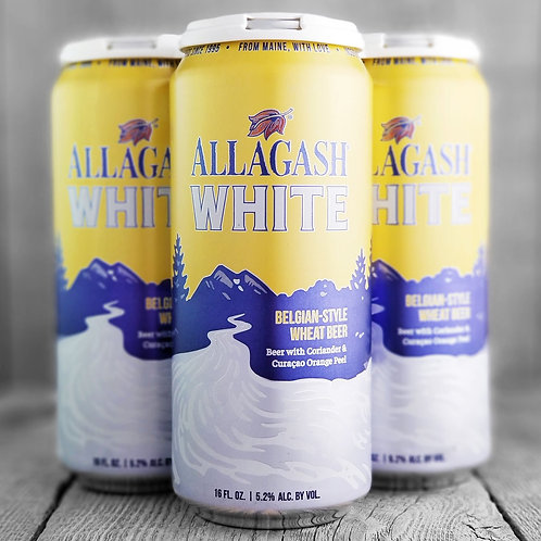 Allagash White, 4 Pack, Cans