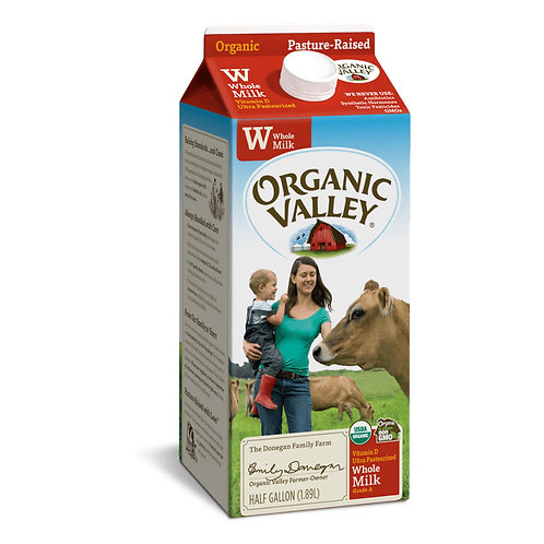 Organic Milk - 1/2 Gallon