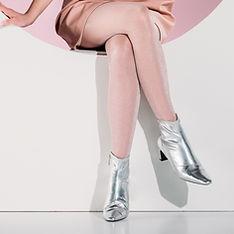 Silberne Stiefel