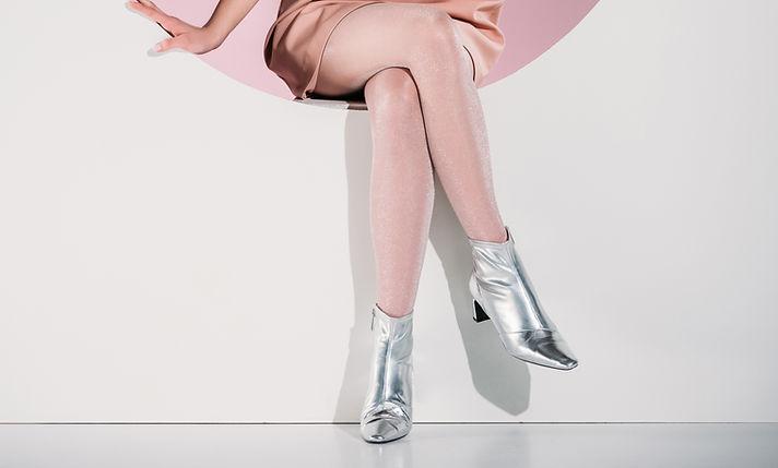 Zilveren laarzen