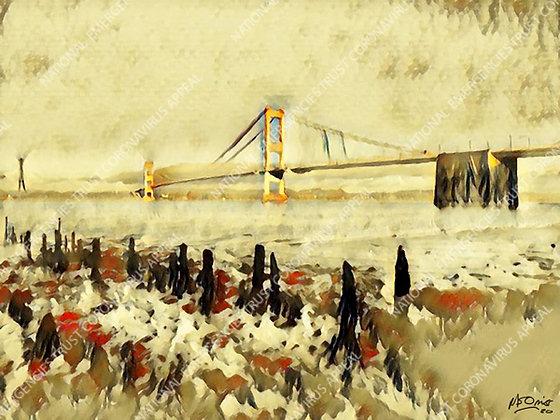 SEVERN BRIDGE (40x30cm)