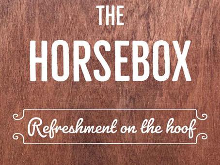 The Horsebox - refreshments on the hoof...