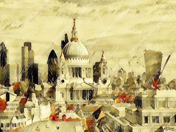 ST PAUL'S CATHEDRAL (40x30cm)
