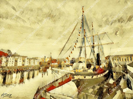 SS GREAT BRITAIN (40x30cm)