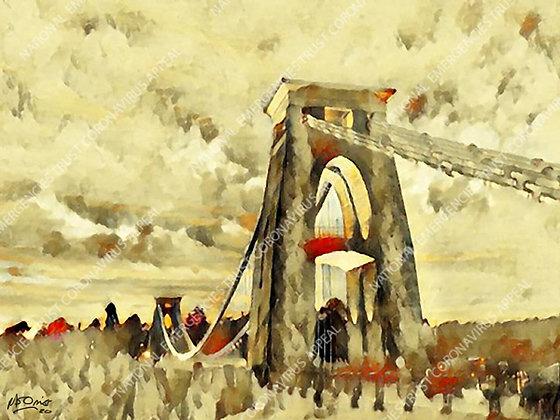 CLIFTON SUSPENSION BRIDGE (40x30cm)