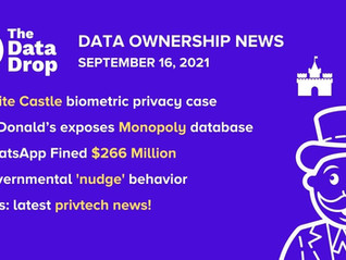 The Data Drop News for Friday, September 17, 2021