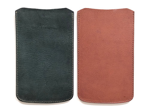 【iPhone11Pro / Xs / X 用】高級イタリアンレザー使用 木製iPhoneケース専用本革ケース『Leather Factory ROBERU』製