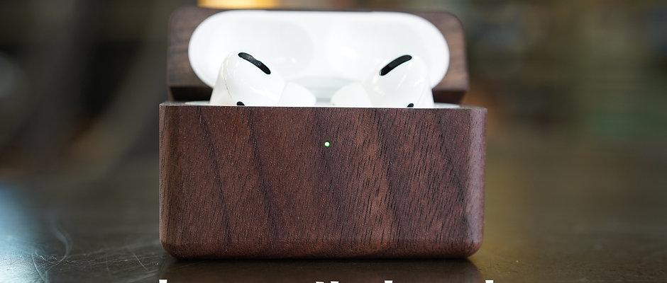 【受注生産販売受付中】木型屋が作るAirPods Pro木製ケース