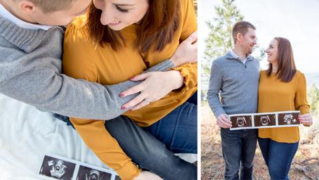 Renée and Adam - Kamloops Newborn Announcement!
