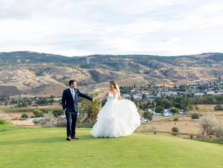 Jessica and Jaron - An Intimate Kamloops Wedding