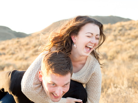 Michelle and Thomas - Kamloops Couple Session