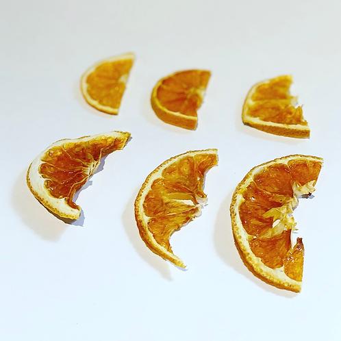Dehydrated Orange Garnish