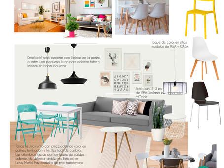 PROYECTO EN MARCHA: Reforma , interiorismo y Home Staging de una vivienda en alquiler